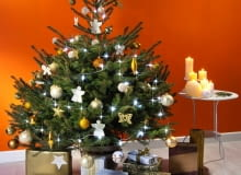 ozdoby choinkowe, świąteczna choinka