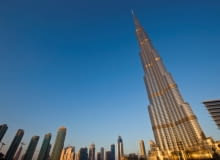 Najwyższy wieżowiec świata Burj Dubaj, proj. Adrian Smith