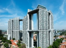 Pinnacle @ Duxton, Singapur, Projekt: ARC Studio Architecture Urbanism