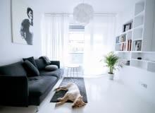 Minimalistyczne mieszkanie dla singla