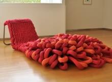 fotel Loop, projekt: Sophie de Vocht