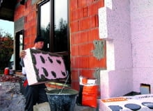 ocieplenie styropianem, styropian, budowa domu