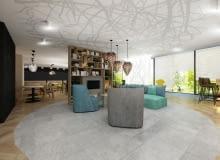 Projekt wnętrz hotelu Ibis Styles Tomaszów Lubelski