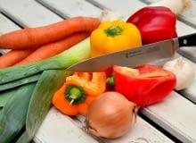 Nóż kuchenny, akcesoria kuchenne, przybory kuchenne