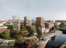 Nowy Port w Bydgoszczy. Projekt: BBGK Architekci