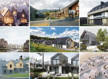 Prace zgłoszone w konkursie 'Active Village' w Karpaczu