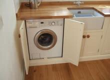 projektowanie kuchni, projektowanie łazienki, miejsce na pralkę