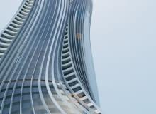 niemcy, zjednoczone emiraty arabskie, wieża, zrównoważone budwnictwo, architektura organiczna