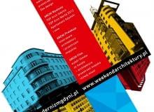 Plakat III edycji Weekendu Architektury