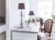 Ula często zmienia wystrój swojego domu. Wcześniej był urządzony minimalistycznie, teraz wkracza do niego styl glamour.