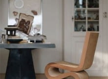 Wiggle Chair; projekt: Frank Gehry