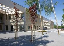 Centrum Administracyjne w Szycach, gmina Wielka Wieś, proj. OVO Grąbczewscy Architekci