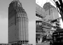 Opuszczony wieżowiec Sathorn Unique w Bangkoku - jedna z najbardziej niezwykłych współczesnych ruin