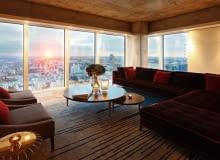 Złota 44 - projekt wnętrz apartamentów