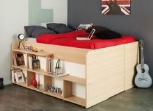 Łóżko z miejscem do przechowywania od Parisot