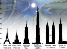 Największe, najwyższe budynki na świecie, wieżowce, architektura, najwyższe budynki świata, rekordy wysokości