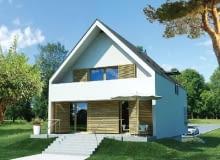 projekt domu,dom energooszczędny