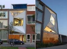 Body House w Rotterdamie to z pozoru zwykły dom szeregowy wpisany w pierzeję. Jednak w wydaniu architektów z Monolab architects przybrał postać żywego organizmu