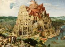 Pieter Bruegel (starszy), Wieża Babel, 1563, domena publiczna
