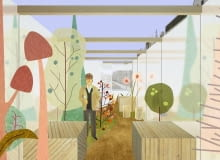 Szarego miasta zielone przypadki - zwycięski projekt w III edycji konkursu Cembrit Bold