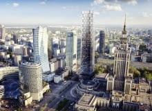 Koncepcja wieżowca w centrum Warszawy Macieja Marcinkowskiego. Ratusz wycofał się ze sprzedaży biznesmenowi działek potrzebnych, by zrealizować inwestycję