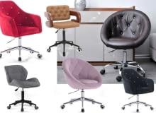Najładniejsze fotele na kółkach
