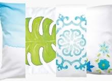 Dekoracyjna poduszka na 4 sposoby