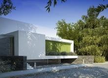 S3NS|Architektura, igor kaźmierczak, dom jednorodzinny, wrocław, dom za zieloną zasłoną, kostka