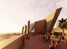 Museo Regional de Tarapaca w Iquique (Chile). Projekt: Studio Libeskind.