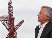115-metrowa wieża stanie u wejścia na teren parku olimpijskiego w Londynie. Gigantyczna rzeźba nazwana ArcelorMittal Orbit to wspólny projekt artysty Anisha Kapoora i konstruktora Cecila Balmonda.
