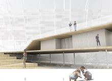 Zwycięski projekt łazienek nad Wisłą