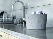 blat z betony, blat kuchenny, kuchnia