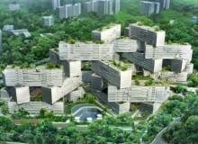 oma, the interlace, singapur, apartamentowiec