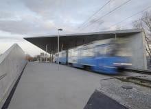 Zintegrowany Węzeł Przesiadkowy na potrzeby EURO 2012, we Wrocławiu, autorstwa Maćków Pracownia Projektowa we współpracy z Piotrem Fokczyńskim