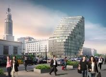 Tak ma wyglądać biurowiec Bałtyk przy Kaponierze