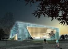 muzeum, projekt, budowa, Lahdelma & Mahlamäki, warszawa, architektura polska, zydzi polscy
