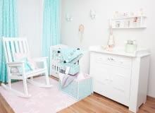Pastelowy pokój dziewczynki, meble dziecięce, pokój dziecięcy