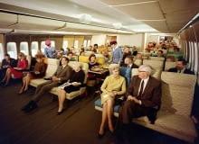 Boeing 747, samolot, podróże samolotem w latach 70.