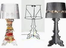 Kartell, Bourgie, lampa Bourgie, słynna lampa Bourgie