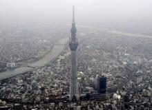 Tokyo Sky Tree - najwyższa wieża na świecie. To już nowa wizytówka miasta.