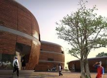 Snohetta, szkoła, gambia, urbanistyka, architektura, uniwersytet w gambii