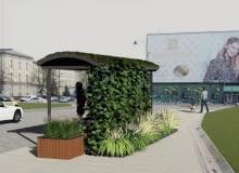 Projekt zielonych przystanków w Białymstoku