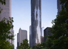 studio gang architects, chicago, wieżowce, wieżowiec, usa, jeanne gang, aqua tower