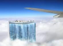 Solar City Tower w Brazylii, projekt wieżowca z wodospadem, który powstać ma na Olimpiadę w 2016 roku