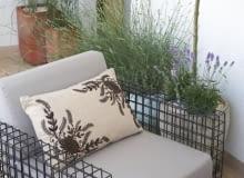 Stalowa siatka, meble ogrodowe, meble balkonowe, fotel ogrodowy