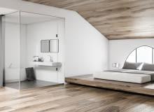 Czy warto postawić na sypialnię połączoną z łazienką?