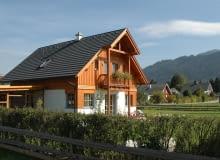 dom jednorodzinny, dom drewniany, dom prefabrykowany