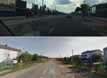 Droga Wojewódzka nr. 728 po i przed przebudową