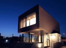 willa, japońska architektura, futuryzm, dom jednorodzinny