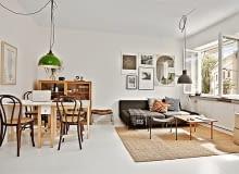 małe mieszkanie, kawalerka, jak urządzić małe mieszkanie, stylowe mieszkanie, studio